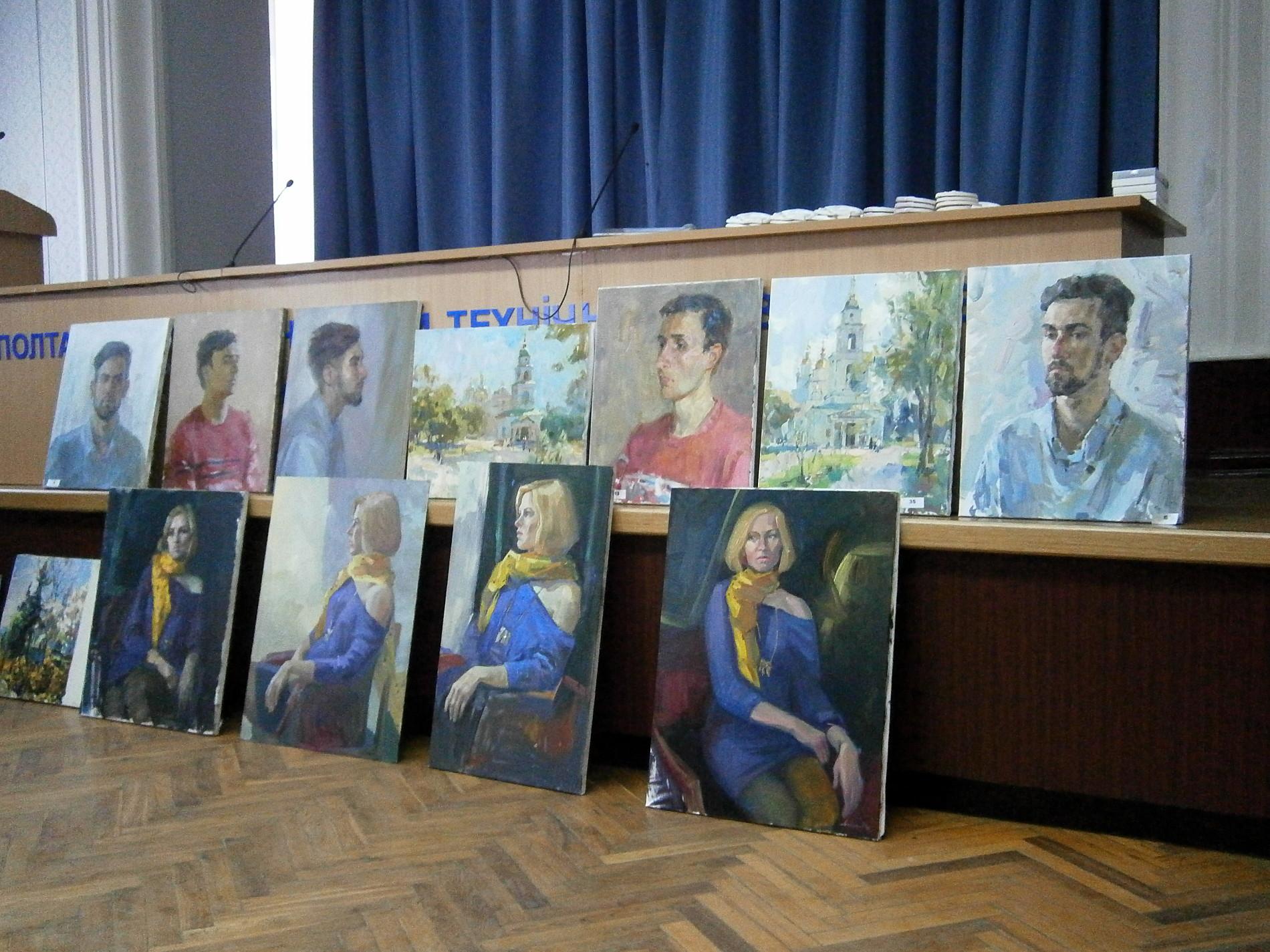 ІІ етап І туру Студентської олімпіади з образотворчого мистецтва (живопис) та майстер-клас 2018