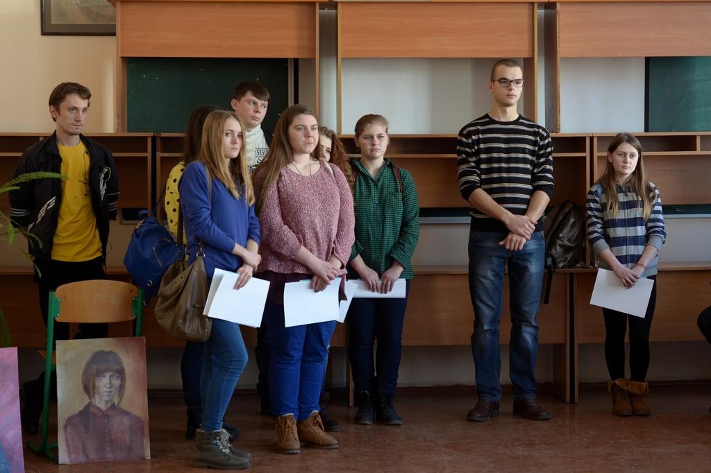 Студенти-учасники Черкаського художньо-технічного коледжу