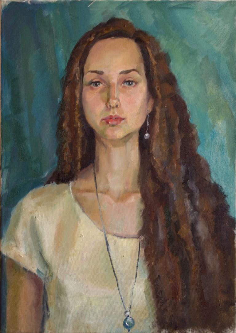 Лада Дарья. 4 курс. Портрет натури