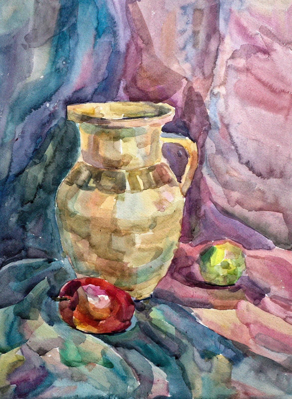 Творчий конкурс з живопису. Роботи вступників