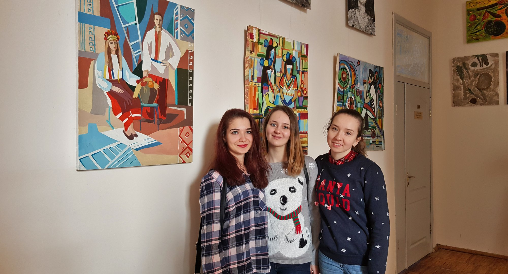 Виставка студентських робіт спеціальності «Образотворче мистецтво»