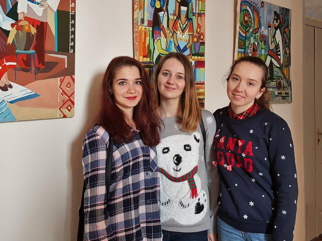 Відкрилась виставка студентів-стажерів