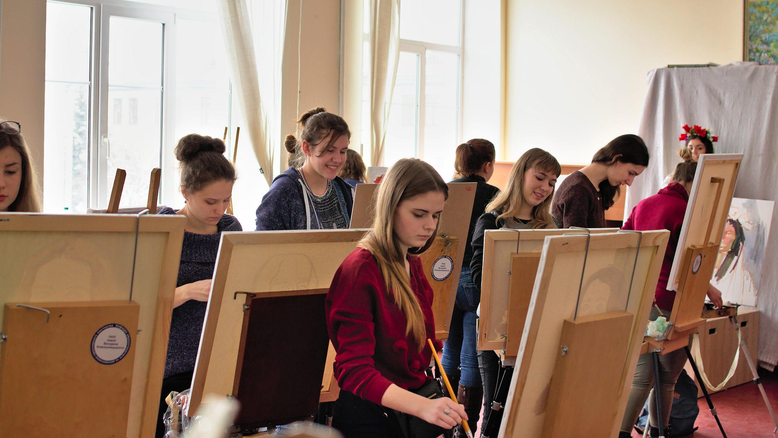 ІІ етап І туру університетської олімпіади з образотворчого мистецтва (Живопис)