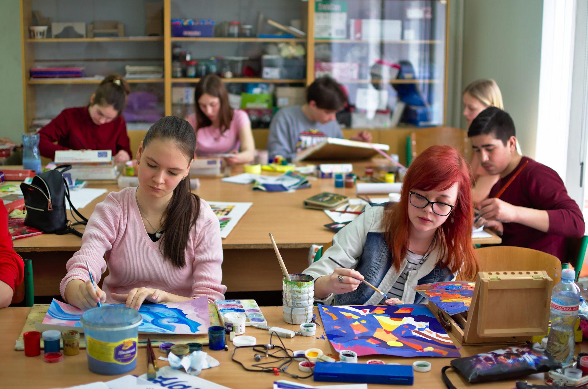 Підведення підсумків І  обласного конкурсу з образотворчого мистецтва для обдарованої молоді «Палітра Черкащини»