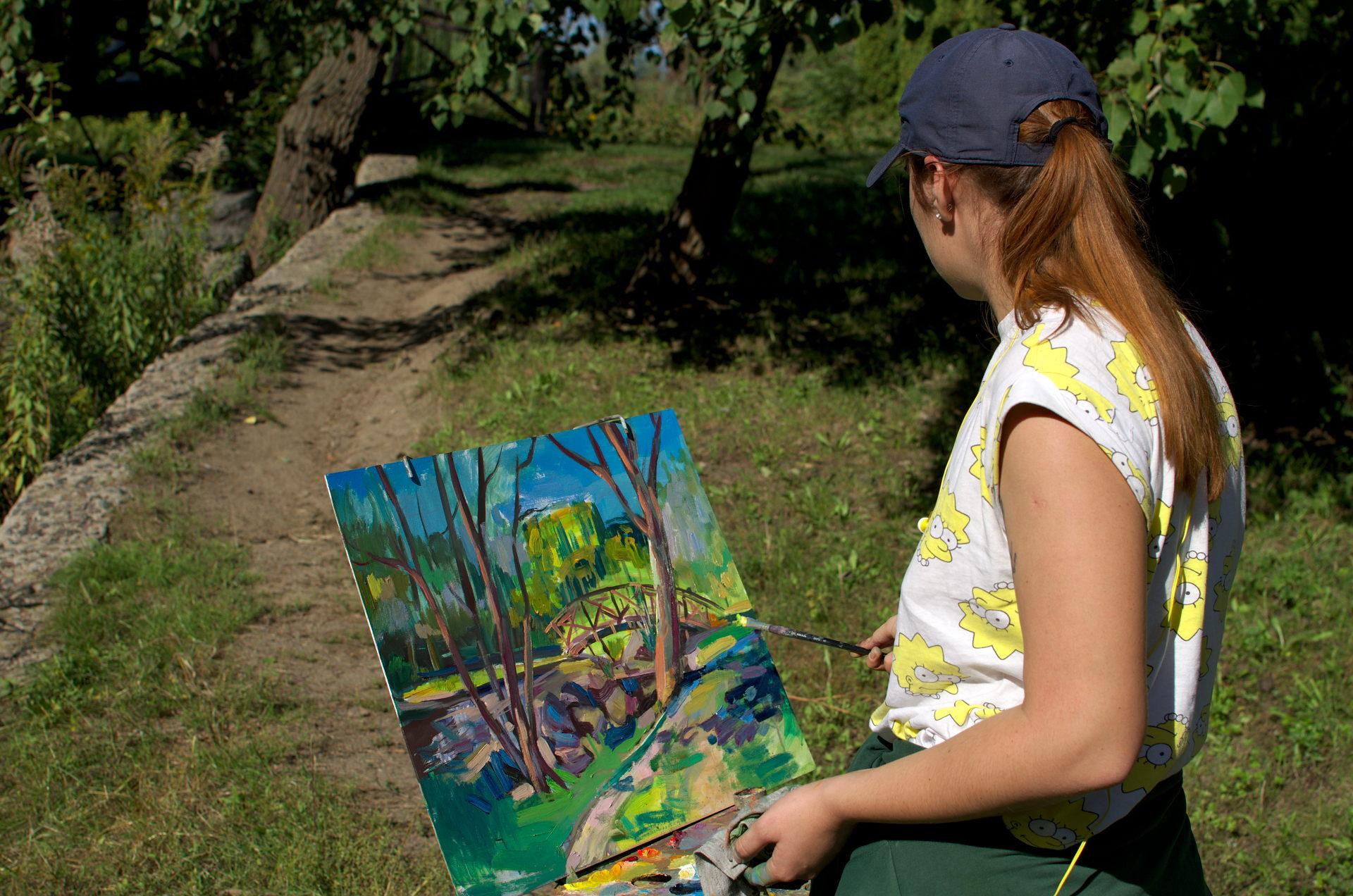 Відбувся перший тур першого етапу студентської університетської олімпіади з живопису