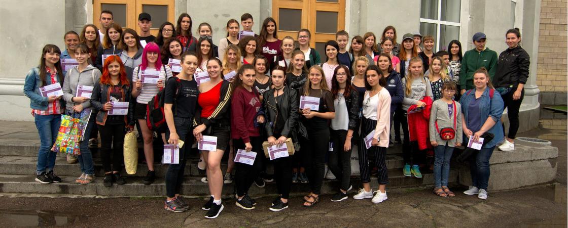 Студенти кафедри на День міста Черкаси 2018
