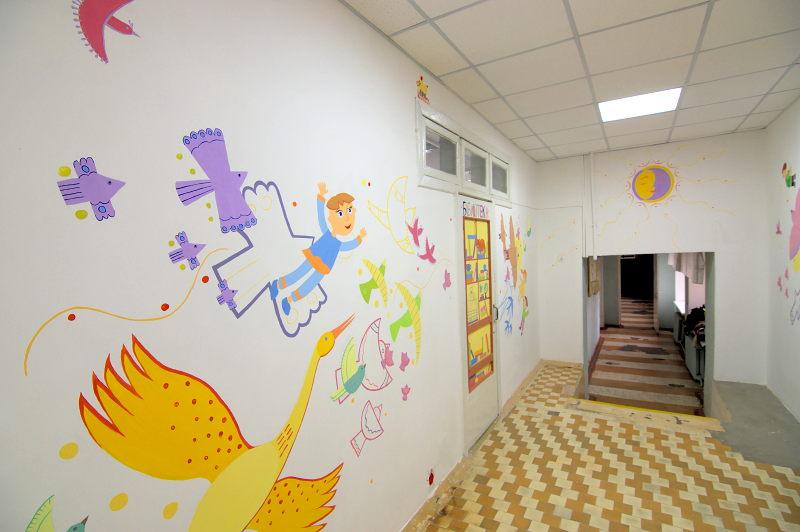 Жага життя — Студенти створили розписи для дітей-інвалідів