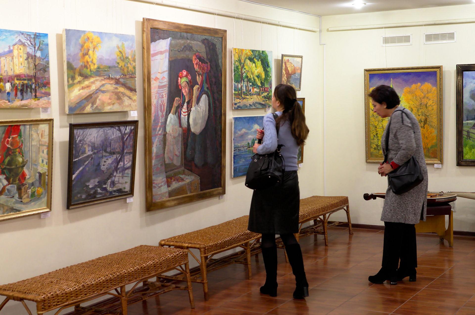 Виставка студентських робіт у музеї «Кобзаря»