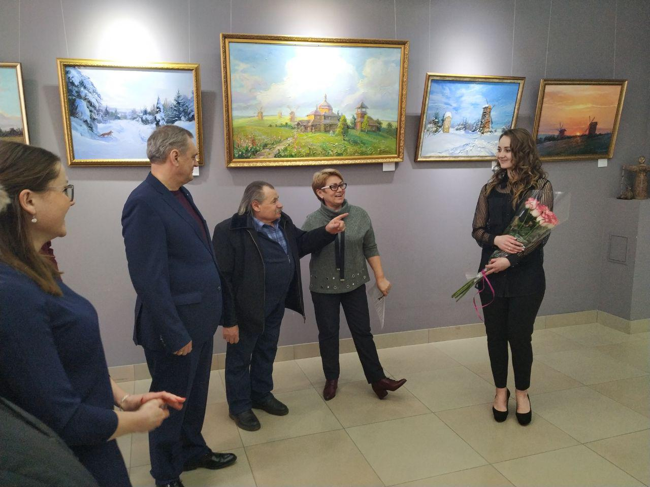 Перша персональна виставка Тетяни Дмитренко «Совин Яр»