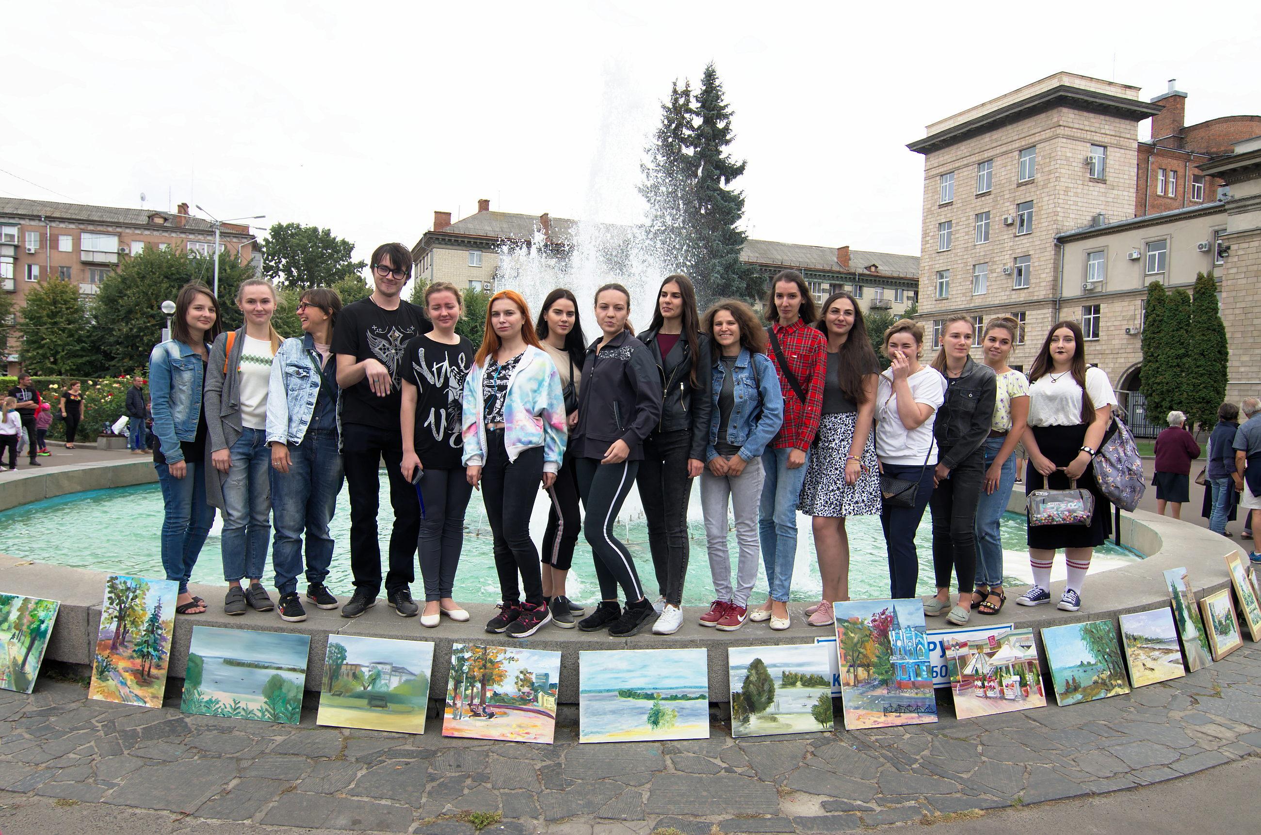 Пленер на день міста Черкаси 2019