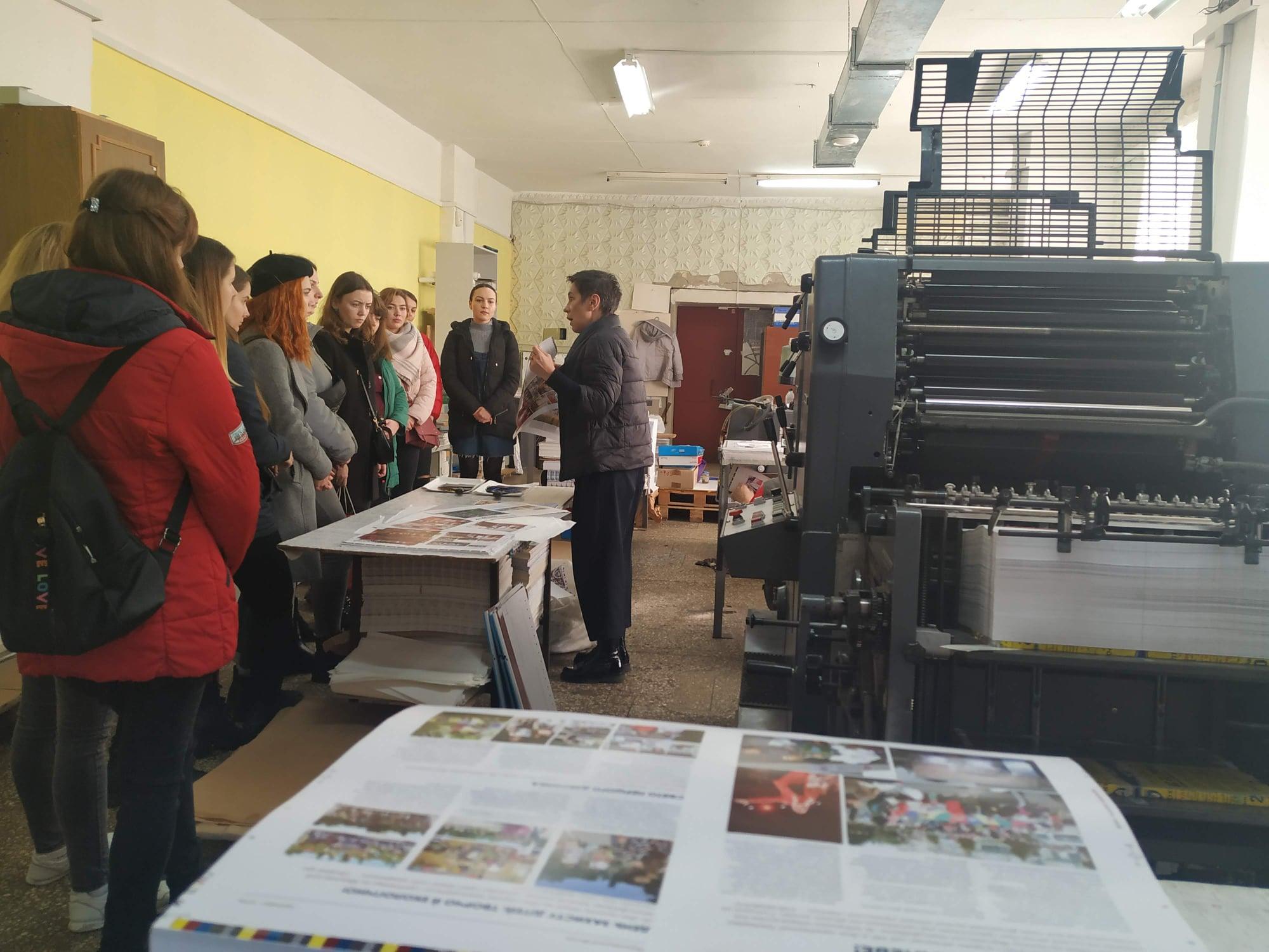 Екскурсія у Майстерню друку Юлії Чабаненко