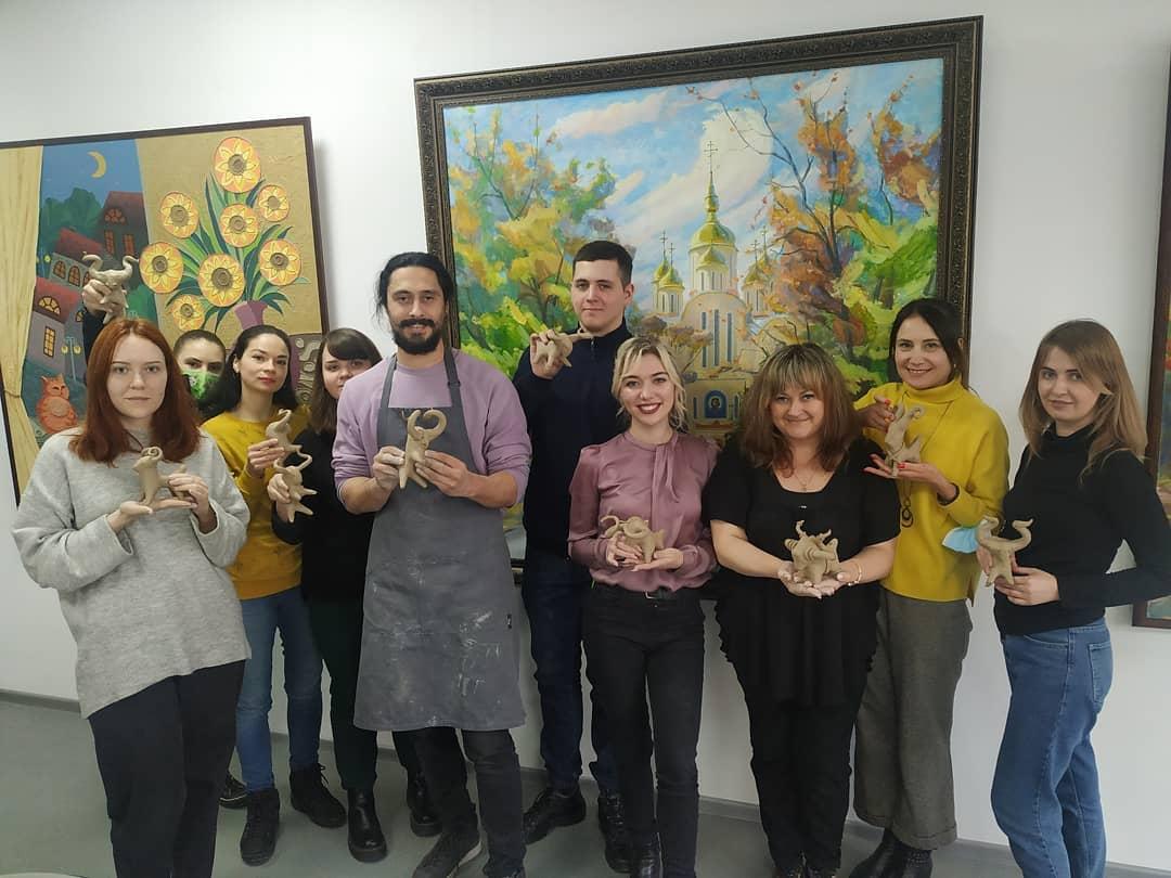 Артка-зустріч: свистульки із Іваном Фізером