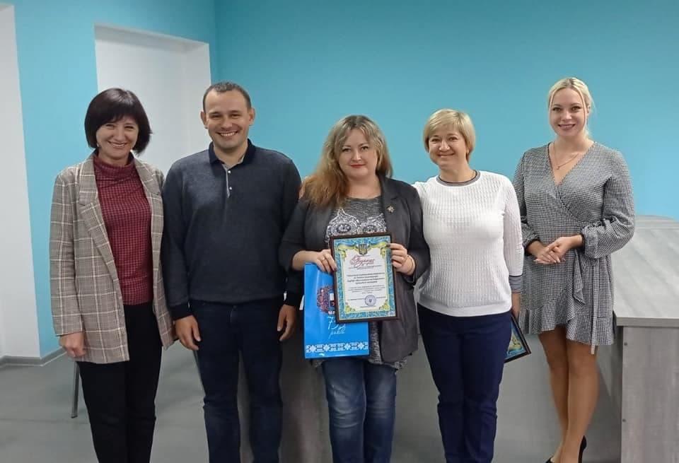 Подяка від Департаменту освіти та гуманітарної політики Черкаської міської ради